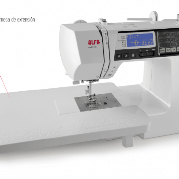 Máquina de costura alfa 2190