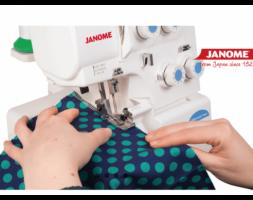 JANOME 8002D-CORTE E COSE