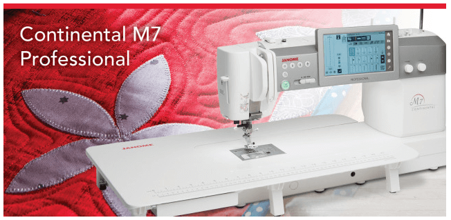 Máquina de costura profissional M7