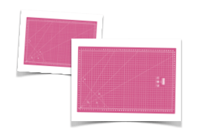 Base de corte rosa
