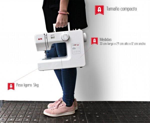 Máquina de costura Alfa Nest 10